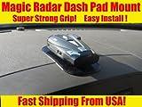RADAR DETECTOR - DASHBOARD MAGIC MOUNTING PAD