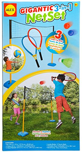 ALEX Toys Active Play Gigantic 3 in 1 Net Set