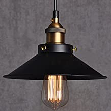 Edison Lamp Hanging/pendant Antique Vintage Industrial Loft, E27 Holder, Decorative, Urban Retro Style, Black...