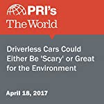 Driverless Cars Could Either Be 'Scary' or Great for the Environment   Carolyn Beeler