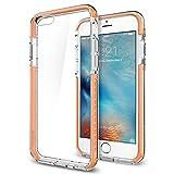 【Spigen】iPhone6s Plus ケース / iPhone6 Plus ケース, ウルトラ・ハイブリッド テック [ 背面 クリア ] アイフォン6s プラス 用 米軍MIL規格取得  (クリスタル・オレンジ SGP11648)