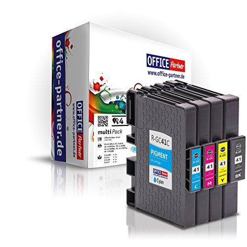 4er multiPack kompatible Druckerpatronen mit Chip zu Ricoh...