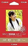 Canon 写真用紙・光沢 ゴールド L判 200枚 GL-101L200