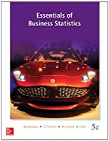 Essentials of Business Statistics, 5th Edition Front Cover