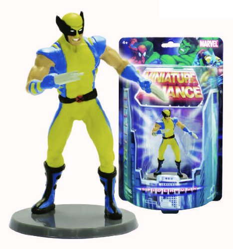 "Marvel Miniature Alliance 2.75"" PVC Figurine - Wolverine (Individually packaged on Blister Card) - 1"