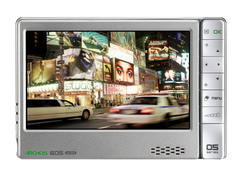 Archos 605 80 GB Wi-Fi Portable Media Player (Silver)