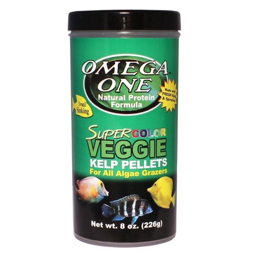 Omega One Super Color Kelps Sinking Pellets 8Oz