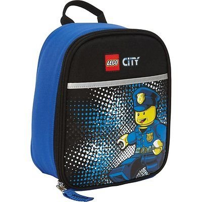 LEGO Vertical Lunch City Police Chief, Blue, One Size - 1