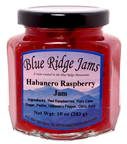 Habanero Raspberry Pepper Jam (10 oz Jar)