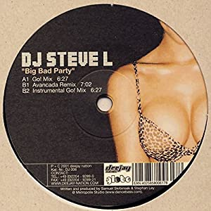 Big bad party (Go!/Avancada Remix/Instr., 2001) / Vinyl Maxi Single [Vinyl 12'']