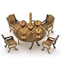 Stylla Shoppers Unique Design Dining Table Chair Maharaja Set