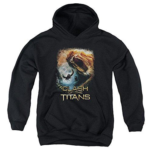 Clash Of The Titans-Kraken Clash-Felpa con cappuccio per ragazzi Nero  nero