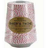 Regency Baker's Twine Cone red and white