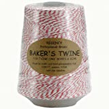 Regency Bakers Twine Cone red and white