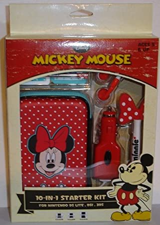 Disney Minnie Mouse 10 in 1 Kit for DS, DSi, and 3DS