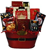 Delight Expressions™ Goodies From Santa Christmas Gourmet Food Gift Basket - A Holiday Gift
