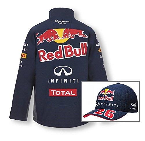 red-bull-racing-formula-one-1-f1-pour-homme-en-tissu-softshell-pour-homme-et-danil-kvyat-a-visiere-i