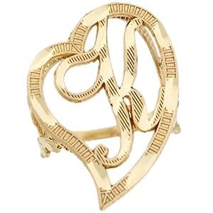 K Letter In Heart Heart Cursive Letter K