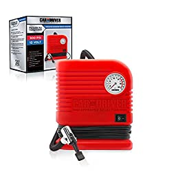 Car and Driver AC2132-RD Red 250/300 PSI Air Compressor
