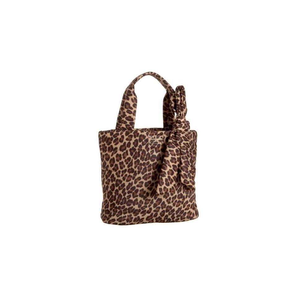 Kate Spade Puffer Leopard Evonne Tote,Leopard,one size
