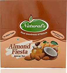 Natural's Dry Fruit Bars Almond Fiesta (Pack of 12)