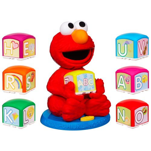 Sesame Street Elmo'S Find & Learn Alphabet Blocks front-963063