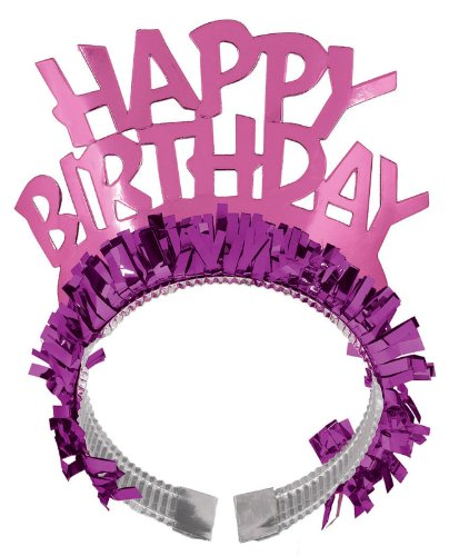 Happy Birthday Tiara Headband Party Accessory - 1