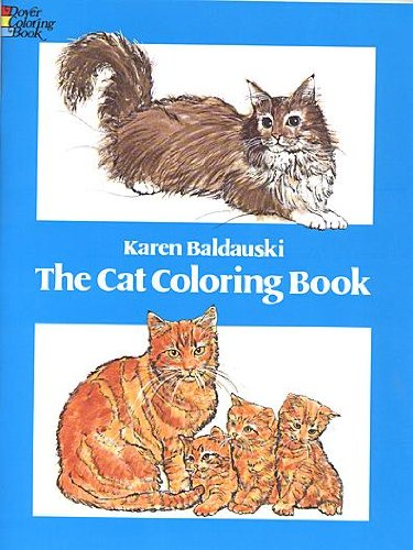 The Cat Coloring Book - 1
