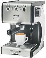 Ufesa - CE7141 - Machine à café automatique, 1050 watts, Noir / Argent
