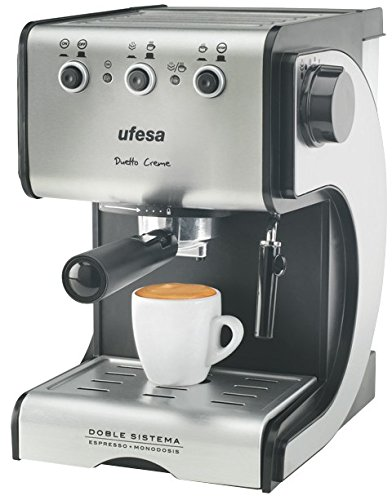 Cafetera cafe molido de 1050w. Marca Ufesa