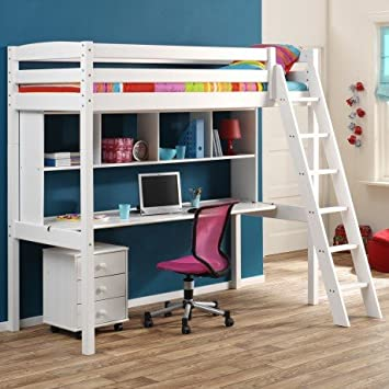acheter lit mezzanine avec bureau. Black Bedroom Furniture Sets. Home Design Ideas