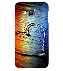 SAMSUNG GALAXY A3 HEART Back Cover by PRINTSWAG
