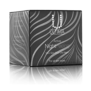 Ultima Rejuvenating Active Night Peeling System For Complete Cell Renewal, Powerful Anti Oxidant Anti Aging Cream