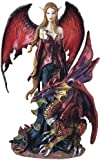 Fairy Pixie with Dragon Fantasy Figurine Figure Decoration Statue