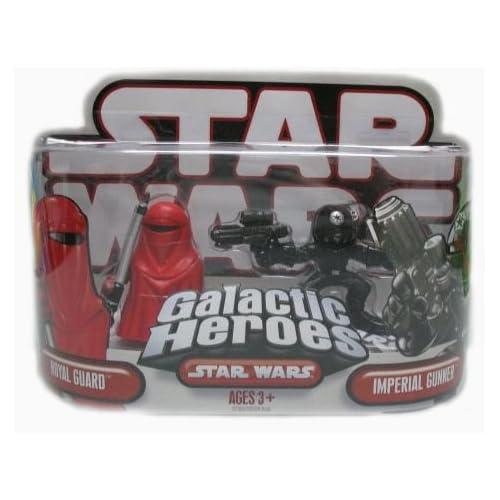 Star Wars Galactic Heroes Royal Guard & Imperial Gunner by Hasbro