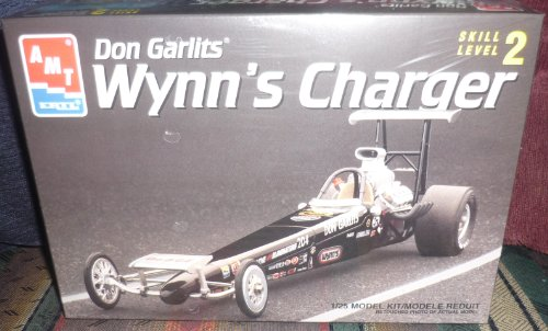 #6438 AMT/Ertl Don Garlit's Wynn's Charger 1/25 Scale Plastic model kit,needs assembly