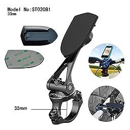 MAXROCK (TM) 360 Rotation Universal Bicycle Phone Mount Motorcycle Handlebar Cellphone Holders with 33mm Diameter Bracket