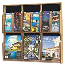 Safco Expose 6 Magazine 12 Pamphlet Display (5703MO)