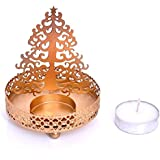 Creativegifts Shadow Star Tree Tea Light Candle Holder For Home Decor