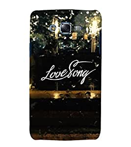 Fuson Premium Back Case Cover Love story With Brown Background Degined For Samsung Galaxy Grand Neo Plus::Samsung Galaxy Grand Neo Plus i9060i