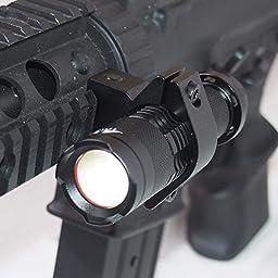 Cree LED High Brightness Compact Tactical Flash Light /w 20mm mount