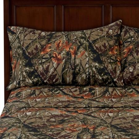 Microfiber Imported Full Sheet Set, Camouflage (Camouflage Sheets Full compare prices)