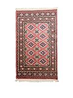 Navaei & Co. Alfombra Kashmir Rojo/Multicolor 132 x 75 cm