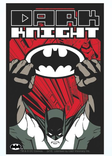 Licenses Products DC Comics Batman Dark Knight Sticker - 1