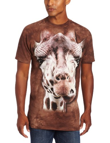 The Mountain Men's Giraffe T-Shirt, Brown, Medium