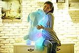 YunNasi Creative Night Light LED Plush Dog Toy Gifts for Kids Girlfriend (Blue)