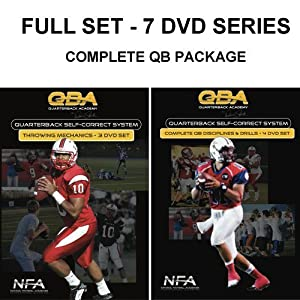 Complete C4 Self-Correct System, 7-DVD series for Quarterback training &... by National
