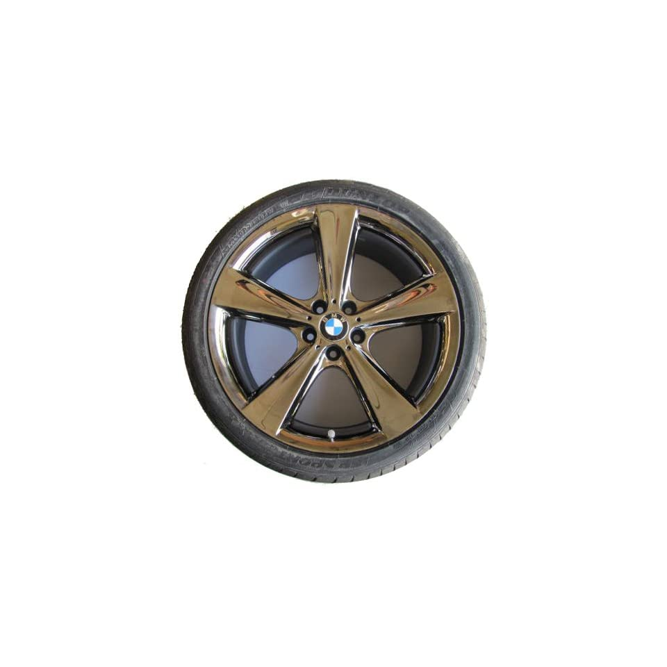 Star Spoke 128 in Midnight Chrome   Complete Wheel Set w/ Tires for Vehicles Produced From Oct 2010 Onward