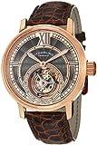 Stuhrling Original Men's 396.334XK14 Tourbillon Limited Edition Imperium Mechanical Rose-Tone Watch