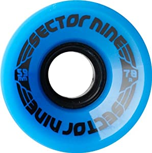 Buy Sector 9 Nine Balls Skateboard Wheel, Blue, 59mm 78A by Sector 9